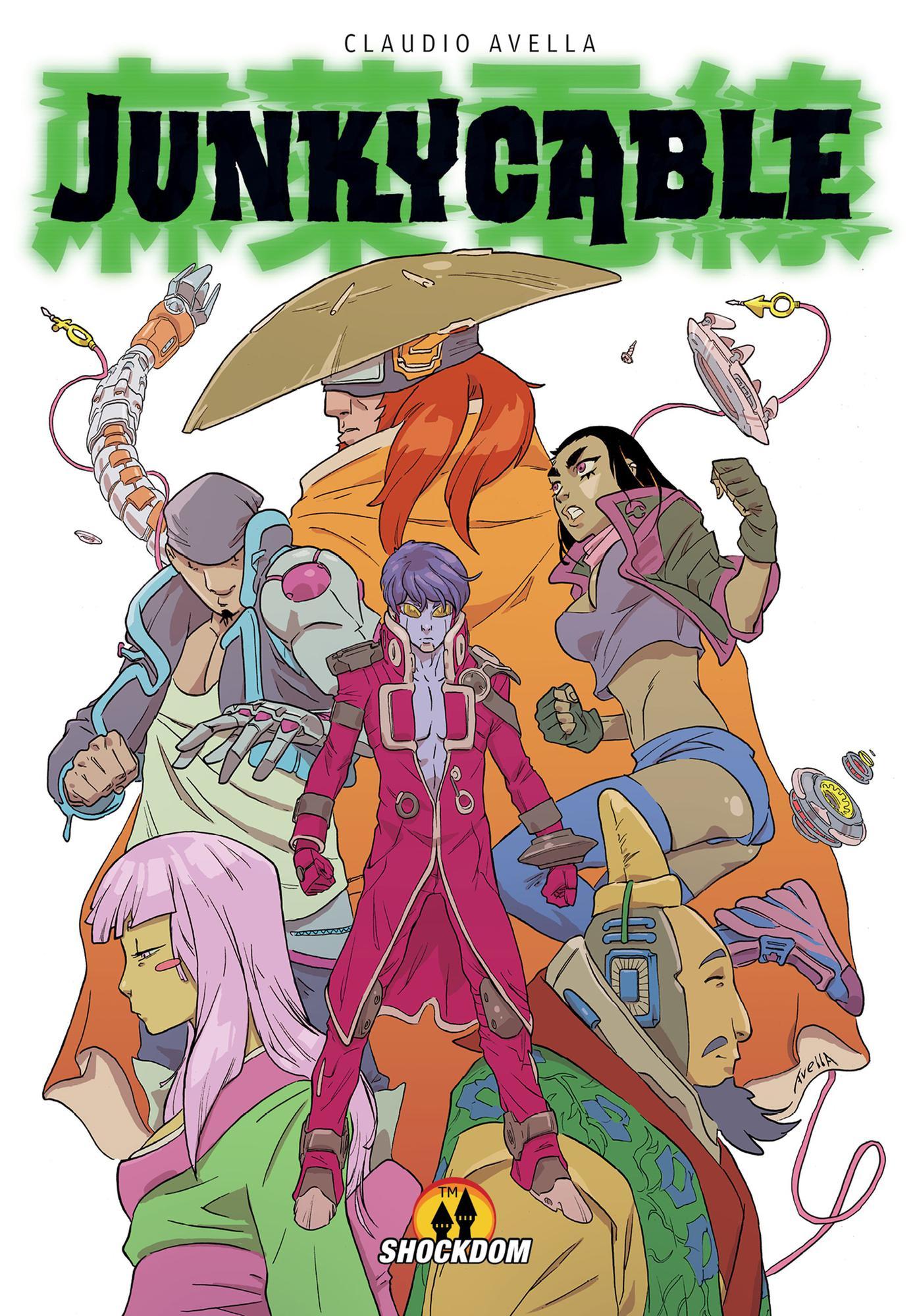 Junky Cable Ebook Shockdom Comics Fu Fumetti Digitali
